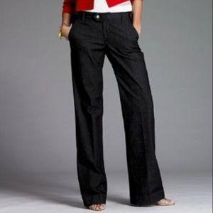 Wide Leg Jeans Lightweight Trouser By J. Crew